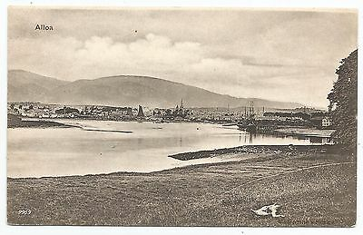 POSTCARDS-SCOTLAND-ALLOA-PTD. Alloa and The Harbour from The River.