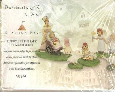 Department 56 Seasons Bay A Stroll In The Park 53308 Sealed in Box