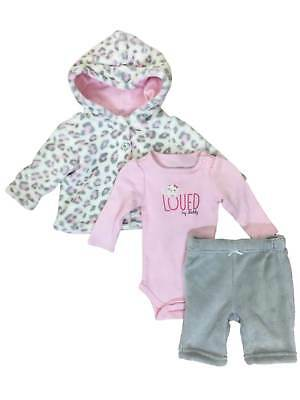 61e8a0470 INFANT GIRLS HOT Pink Panda Bear Baby Outfit Pants Creeper   Hoodie ...