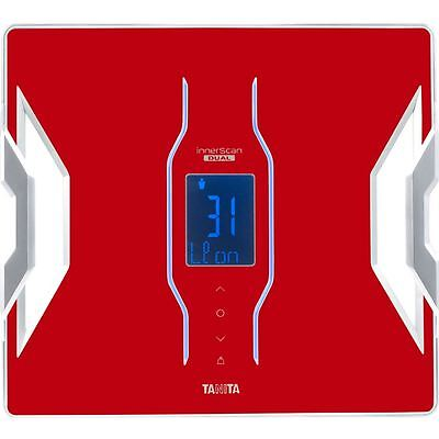 Tanita RD953RD Bluetooth Connected Smart Scale Body Composition Monitor - Red