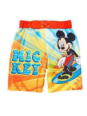 b82bc8c9db Disney Infant & Toddler Boys Surfing Mickey Mouse Swim Trunks Board Shorts