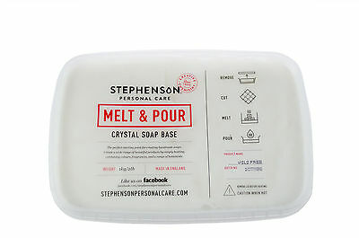 Melt and Pour Soap Base, Opaque White, SLS Free - 2KG - Soap Making