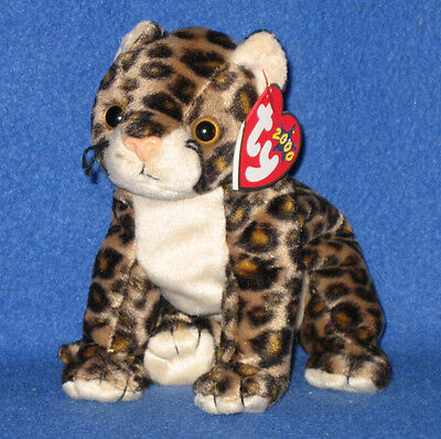 b4571b0668c TY SNEAKY THE LEOPARD BEANIE BABY - MINT with MINT TAGS -  3.95 ...