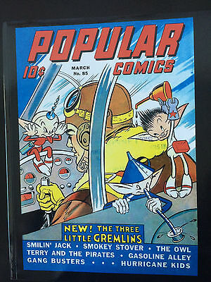 Popular Comics #85 REPRINT EDITION-OWL-TERRY & PIRATES-SMILIN' JACK Mar '43
