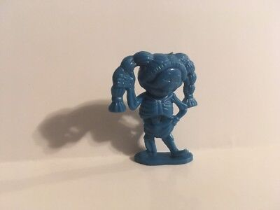 "1986 Garbage Pail Kids Cheap Toys : Thin Lynn BLUE 1.5"" vintage Figure"