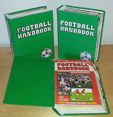 Football Handbook Partwork Magazine - Complete Pdf Collection On Dvd