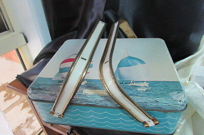 Webster's Biscuit Tin Come Picnic Basket With America's Cup Challenge Boats 1962