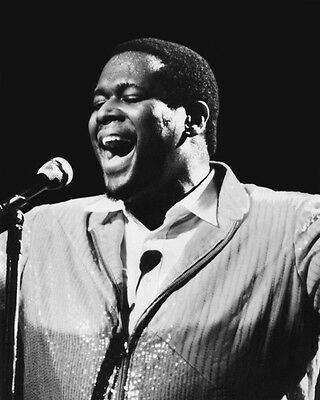 Soul Singer LUTHER VANDROSS Glossy 8x10 Photo Music Print R&B Poster