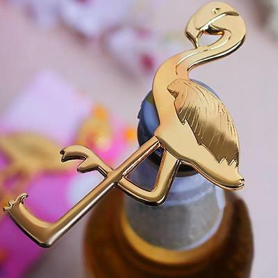 Mini Gold Flamingo Bottle Opener Wedding Party Gift Wine Beer Bottle Opener J