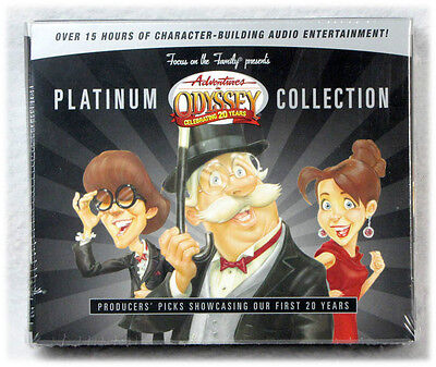 NEW The Platinum Collection 36 Episodes 12 CD Adventures in Odyssey Audio Set