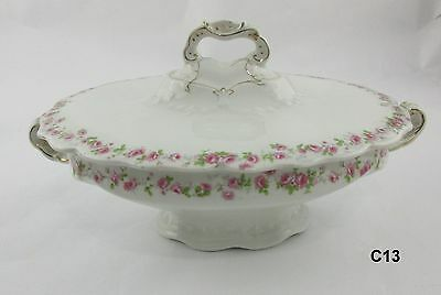 Vintage John Maddock & Sons Royal Vitreous Tureen Serving Dish England C13