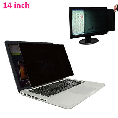 For 14 Inch Computer Monitor Laptop Privacy Protective LCD Screen Filter