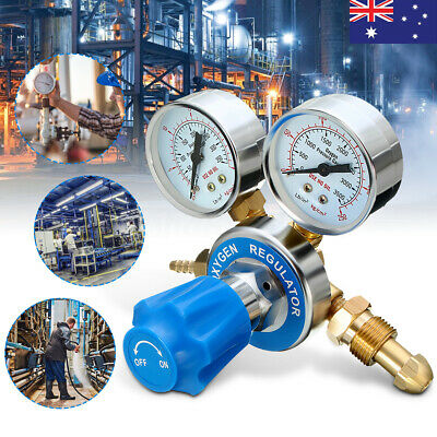 AU Mig Flow Meter Pressure Gas Cutting Argon Oxygen/Acetylene Regulator Reducer