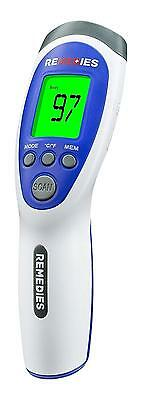 REMEDIES Most Accurate Forehead Temporal Thermometer Touchless & Easy to...