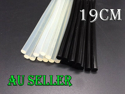 Bulk 10-100 Hot Melt Glue Sticks For Glue Gun Clear Black Adhesive Craft Stick