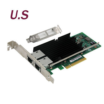 Intel OEM PCI-Express X540-T2 10G Dual RJ45 Ports Ethernet Network Adapter