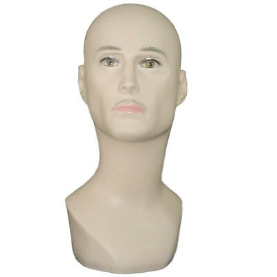 Male Mannequin Head Hat Display Wig  training head model  head model