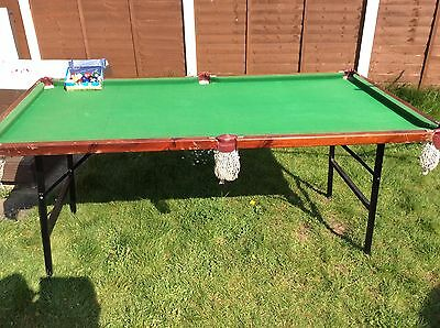 6ft x 3ft Pool/Snooker Table