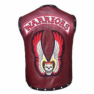 The Warriors Movie Biker Style Faux Leather Vest - Best Offer !!!