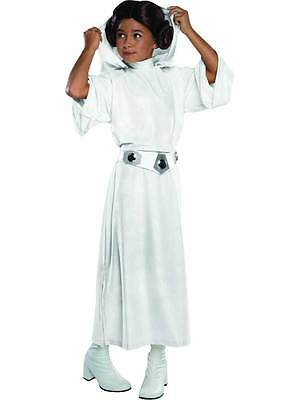 Deluxe Princess Leia Girls Fancy Dress Star Wars The Force Awakens Kids Costume
