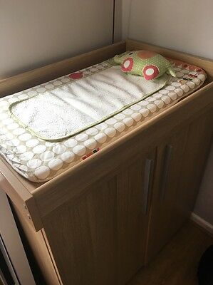 Mamas And Papas Baby Changing Unit Cupboard
