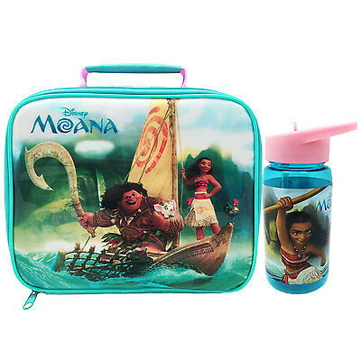 Disney Moana Insulated Lunch Bag and Tritan Drink Bottle BRAND NEW