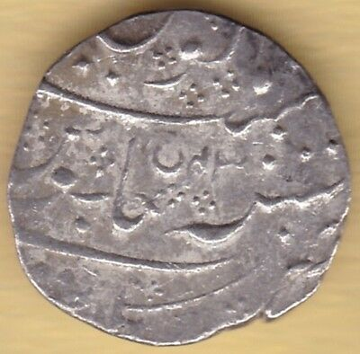 French India Silver One Rupee Arkot Mint In The Of Shah Alam Ii Ry43 Ah1221 #k61