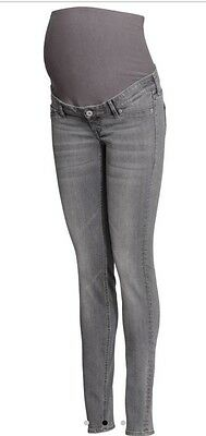 H&M skinny over the bump jeans  current stock brand new size14