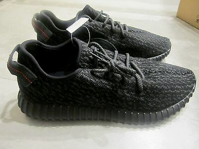 Adidas Yeezy Boost 350 Black Shoes US12.5