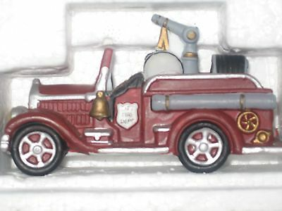 """Department 56 Village Accessory """"City Fire Dept Fire Truck"""" GREAT CONDITION"""