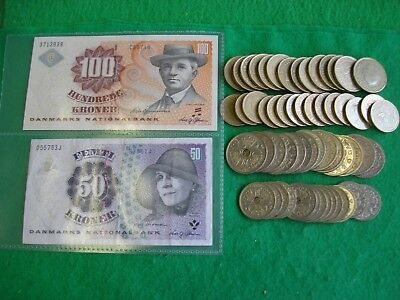678 denmark danish krone notes and coins to collect or spend freepost