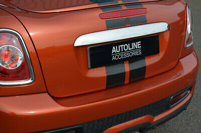 Chrome Rear Door Handle Cover Tailgate Grab Trim To Fit Mini R56 (2006-13)