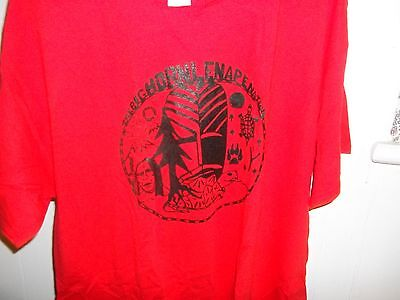 Big Horn Lenape T-shirt/ Red - Xtra Large
