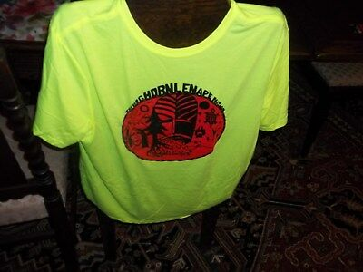 Big Horn Lenape T-shirt/ Bold Lime  -  Medium