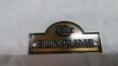 Colt Buntline Antique Plate