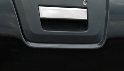 Chrome Rear Door Handle Cover Tailgate Trim To Fit Nissan Navara D40 (2005-14)