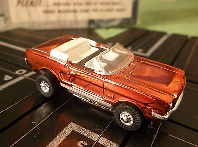MINT Model Motoring Ford Mustang JL Tough Ones Chassis T Jet Race Track Slot Car