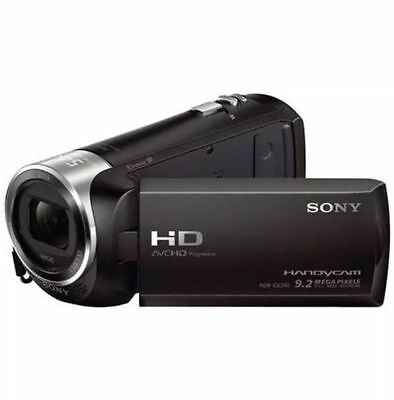 Sony HDR-CX240/B FULL HD 1080P Camcorder with 27x Optical Zoom - Black