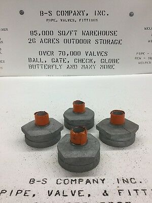 """3"""" X 1"""" VICTAULIC Fig. 52 Galvanized Reducer Grooved Large End X Threaded Small"""