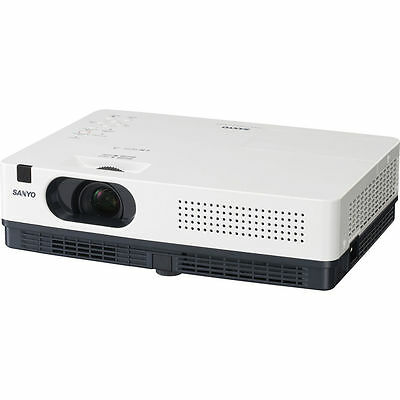 LCD HD Projector Home Theater Movie Game HDMI SANYO WARRANTY