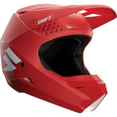 Shift MX Whit3 White Label Motocross Helmet 2018 - RED ENDURO Cross