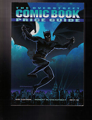 Overstreet Comic Book Price Guide Vol 47-Batman Cover, New 2017, Fast Shipping!