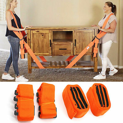Lifting Moving Hand Strap Shoulder Strap Lift Aid Tool Heavy Furniture Forearm Q
