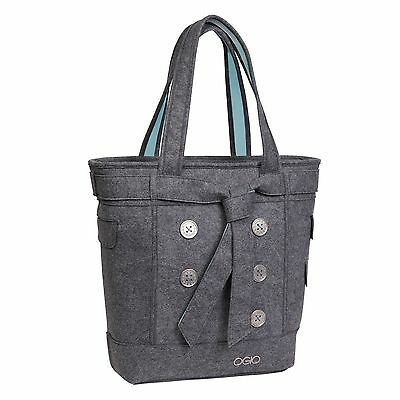 OGIO Hamptons Tote Light Grey Felt One Size - Brand New with Tags!