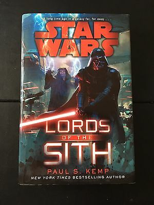 Star Wars Lords of the Sith by Paul S. Kemp Hardcover Hardback ***NEW***