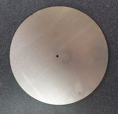 "1/16"" Steel Disc with Hole, 6"" OD x 3/8"" ID, .0625 Mild, Washer, Ring, A1011"