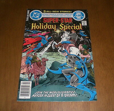1980 SUPER STAR HOLIDAY SPECIAL DC COMIC BOOK - VOLUME 4 - No. 21