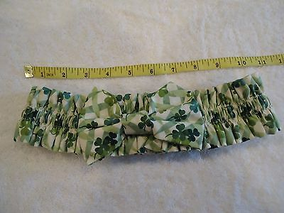 """Longaberger Garter LOTS OF LUCK with Bow 11""""  Unstretched EUC"""