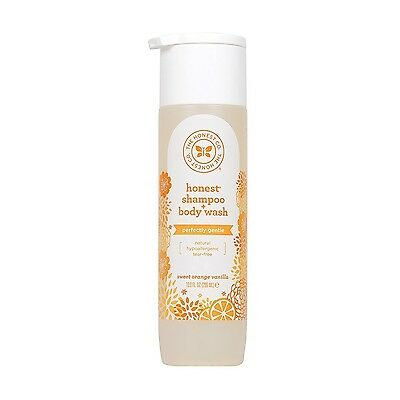 Honest Perfectly Gentle Hypoallergenic Shampoo and Body Wash with Naturally D...