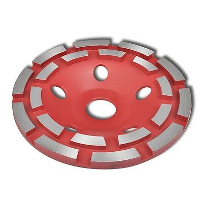 S# Diamond Grinding 180mm Cup Wheel Double Segment Cutter Steel Concrete Disc Gr